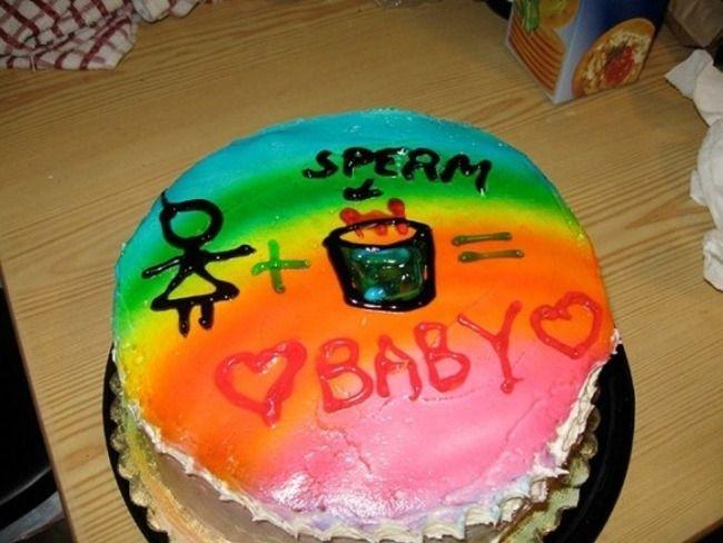 Вкусные тортики, приуроченные рождению ребенка