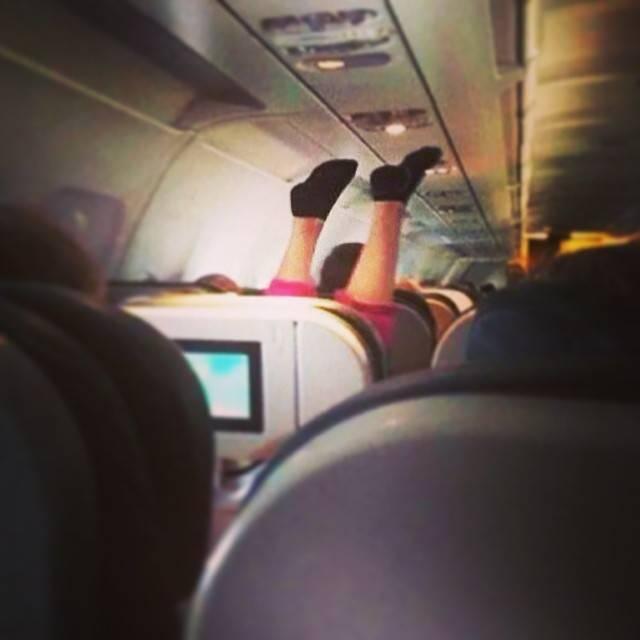 Самые отвратительные пассажиры самолетов