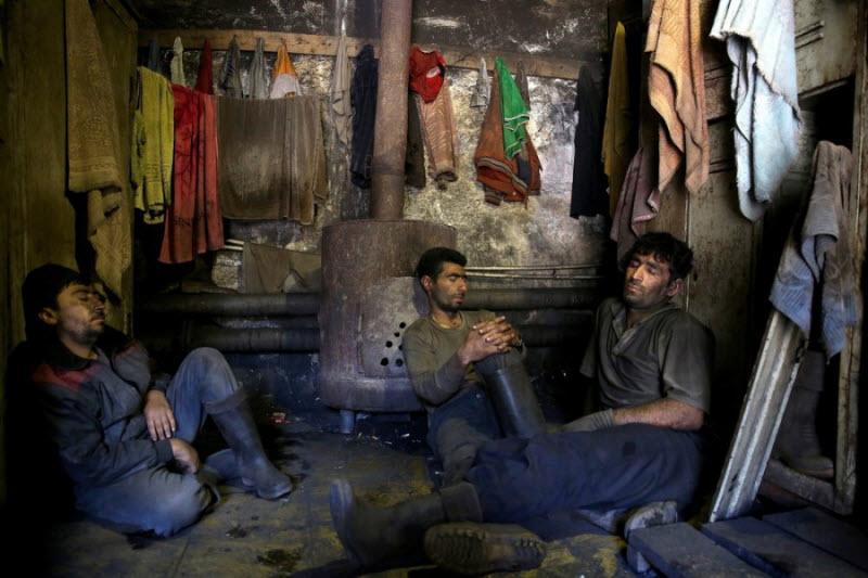 Шахтеры в Иране