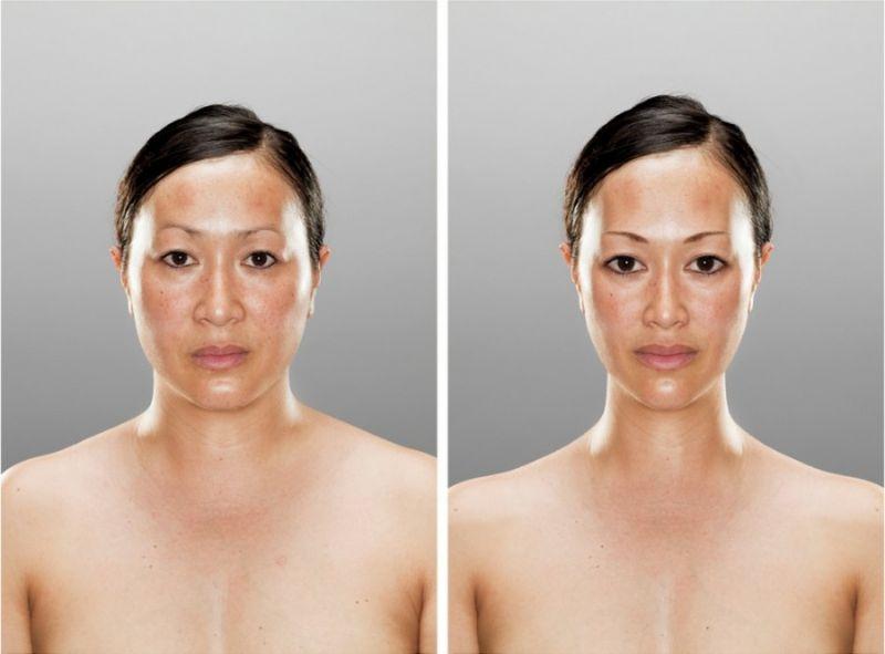 Изменения во внешности на основании подсознательных реакций
