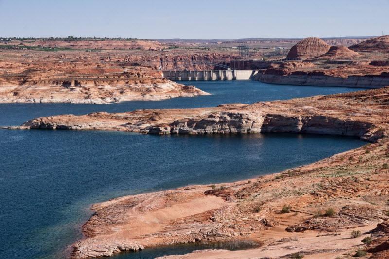 Водохранилище Пауэлл: сказочные пейзажи затопленных каньонов