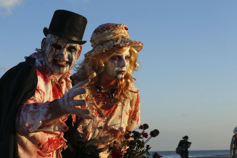 Zombie Walk в Нью-Джерси