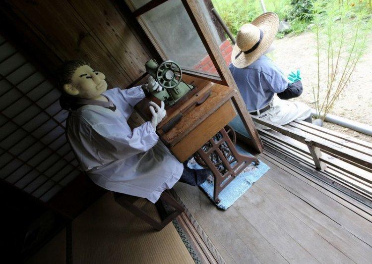 Деревня пугал в Японии