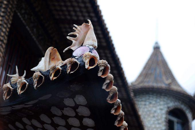 Жилой замок из миллиона морских раковин