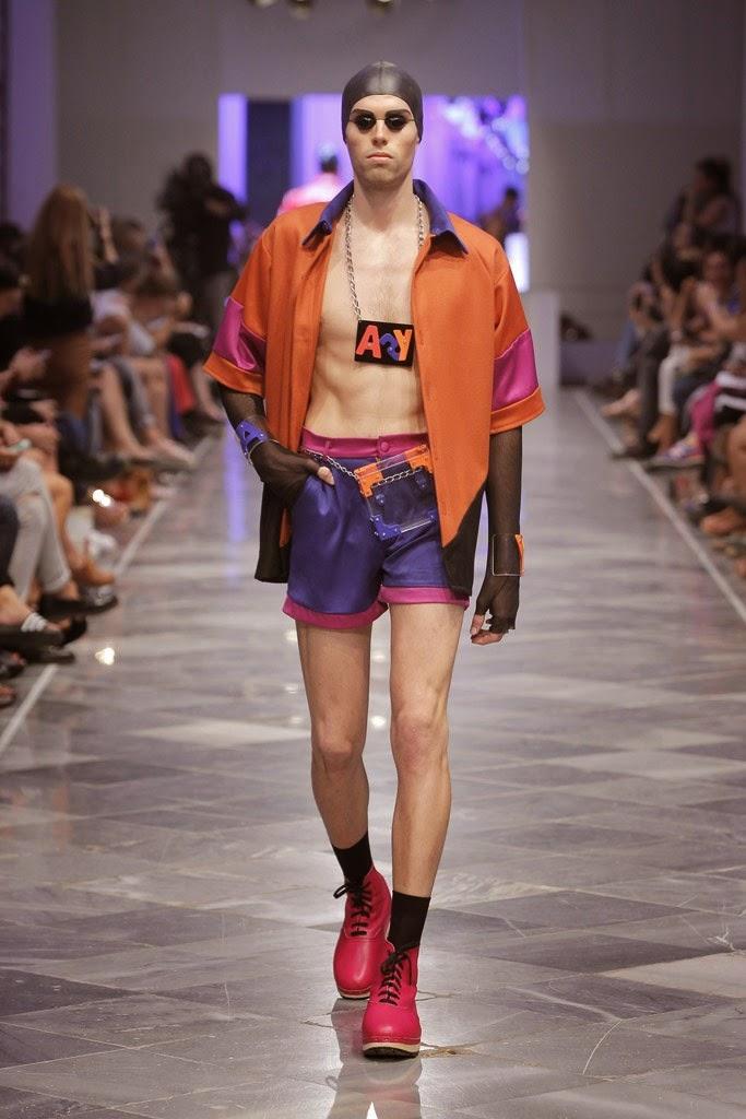 Модные наряды - Anel Yaos Spring/Summer 2015