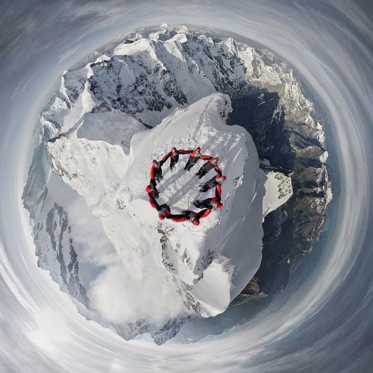 Эпическая фотосессия в Альпах