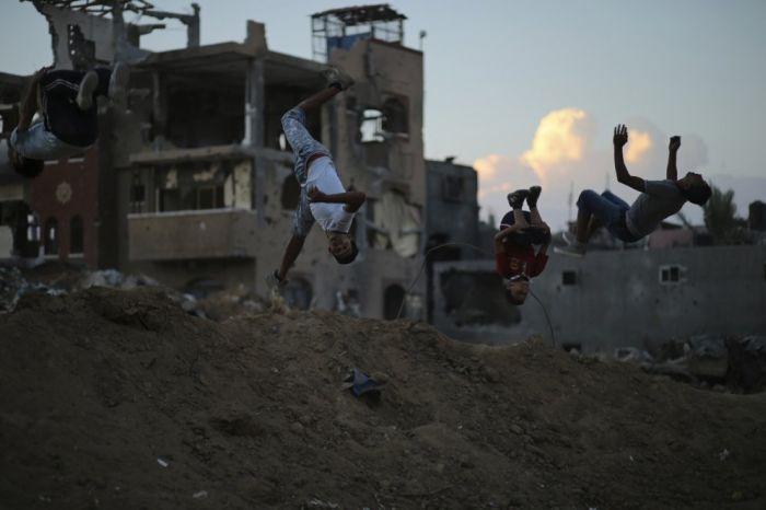 Паркурщики сектора Газа
