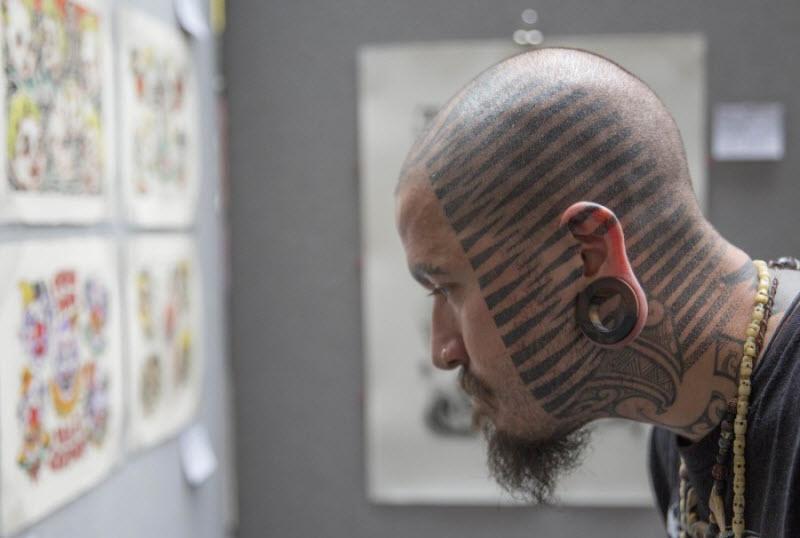 10-я Международная тату-конвенция в Лондоне