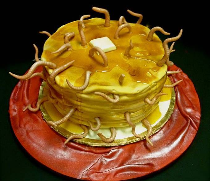 Невероятно художественные торты от Debbie Goard