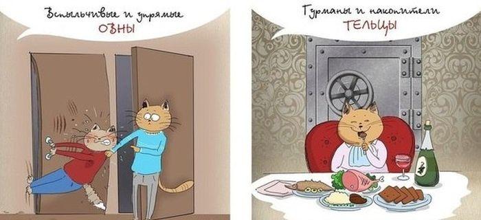 Гороскоп и коты