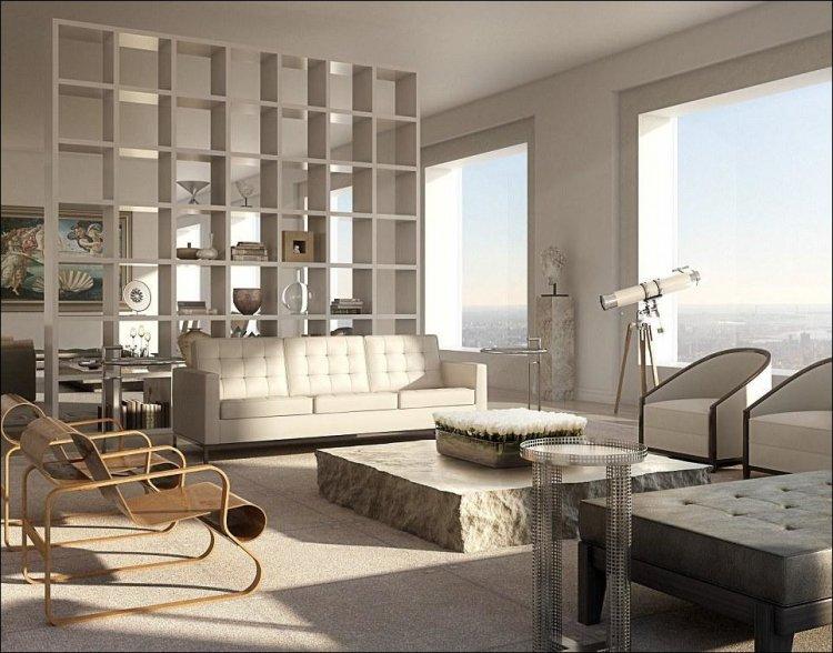 Квартира с видом на Манхэттен