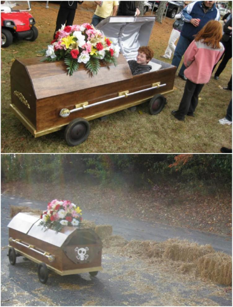 Необычные способы использования гроба