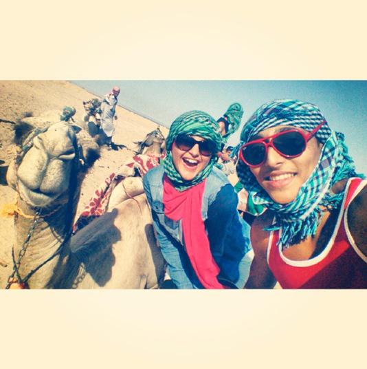 Селфи с верблюдами