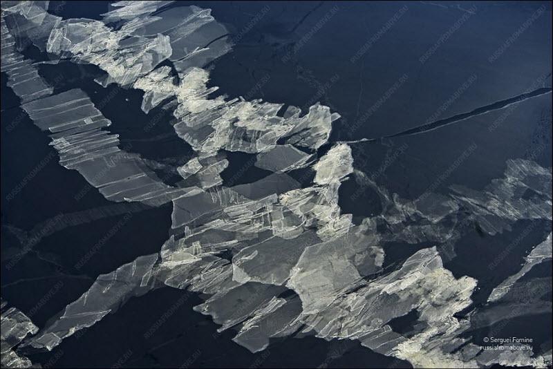 Аэрофотографии Полет над Россией
