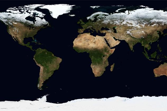 10 явлений, которые видны из космоса