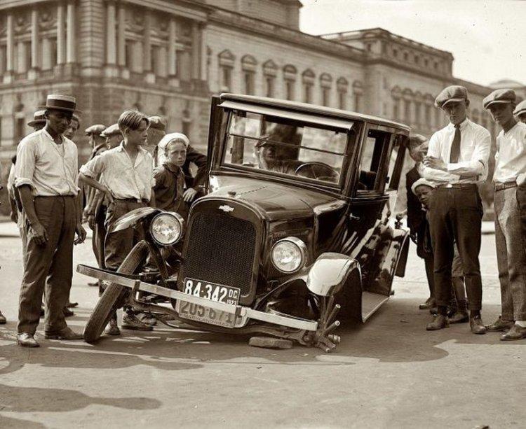 ДТП на заре автомобилестроения