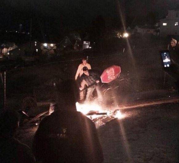 Массовые беспорядки на тыквенном фестивале в США