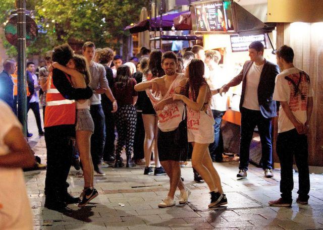 Подборка пьяных англичан