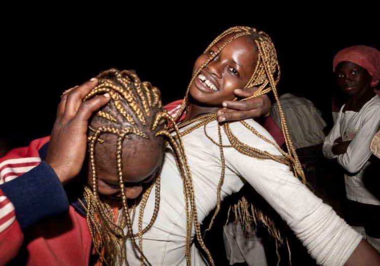 Сельская дискотека в Африке
