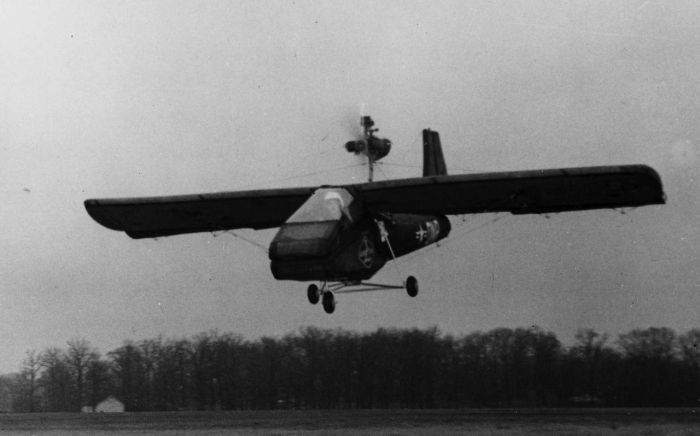 Надувной спасательный самолет