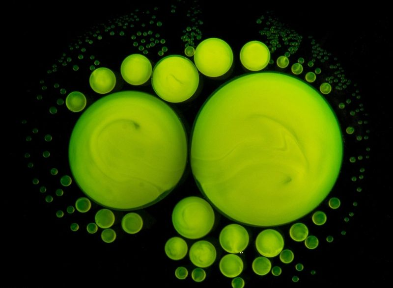 Красивая химия под микроскопом