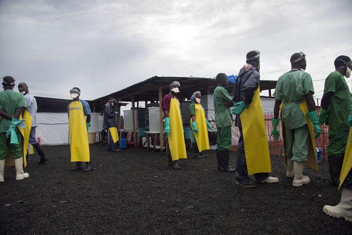 Либерия в карантине
