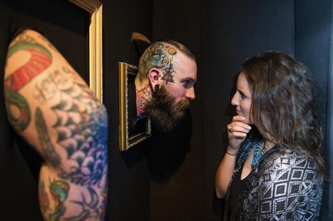 Музей татуировки с живыми экспонатами