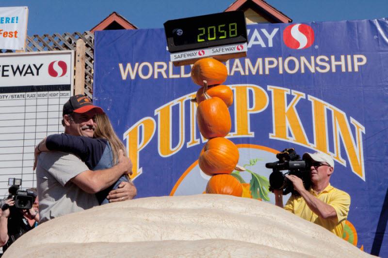 Победители чемпионата Тыква Калифорнии