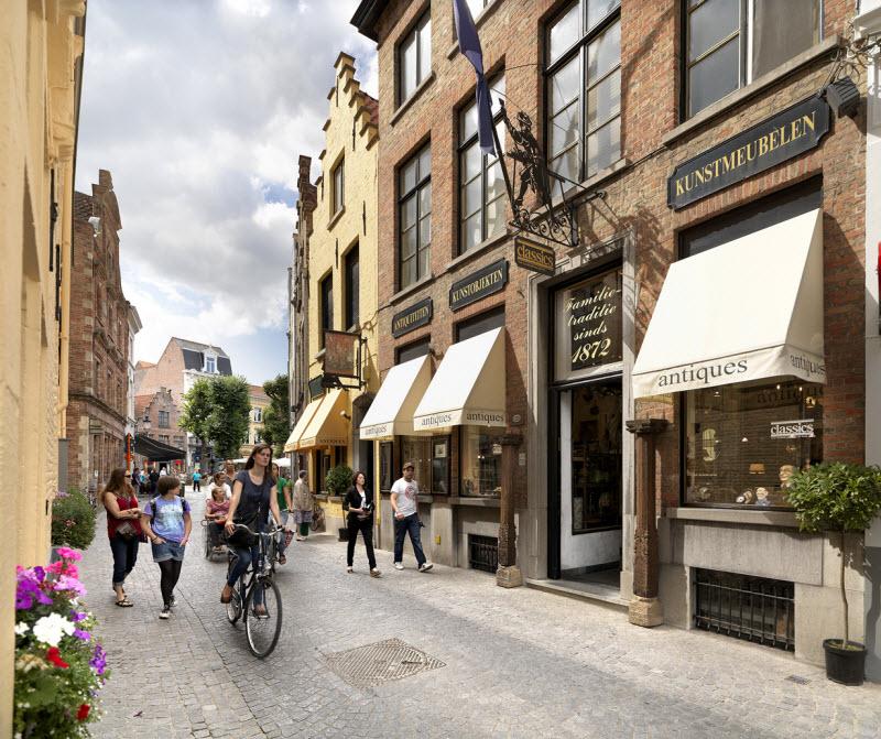 Красота Брюгге, Бельгия