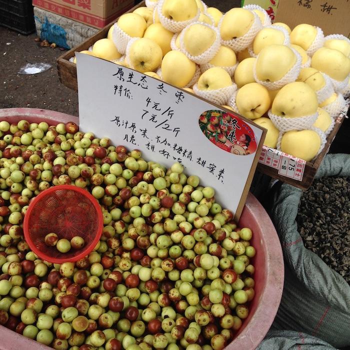 На рынке в старом Шанхае