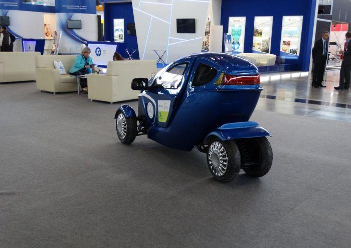Российский электрокар Bravo eGo
