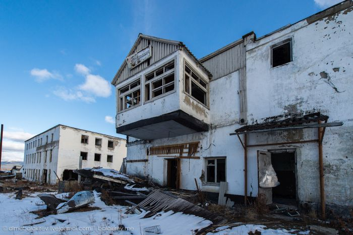 Заброшенная колония на Колыме