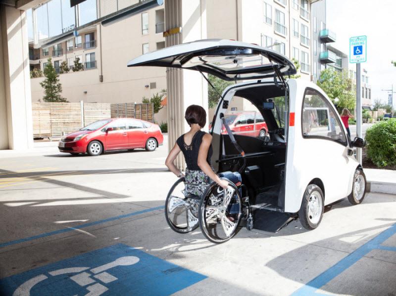 Электромобиль Кенгуру для людей с ограниченными возможностями