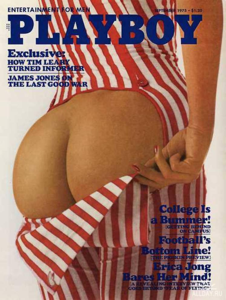 Какими были обложки Playboy