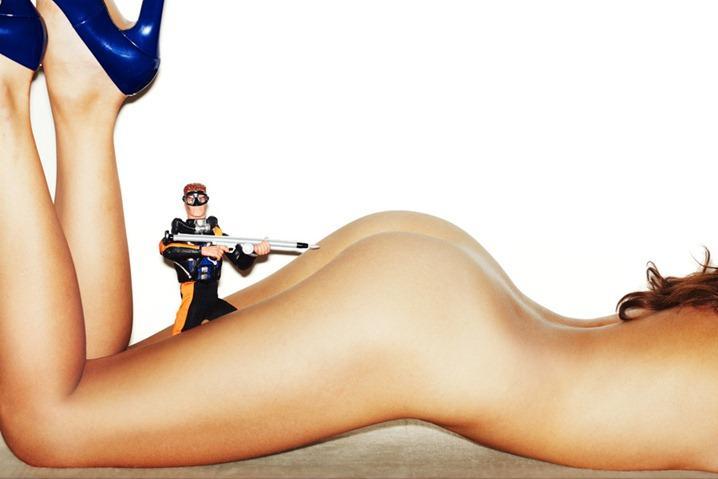 Игрушки и секс фотографа Тони Келли
