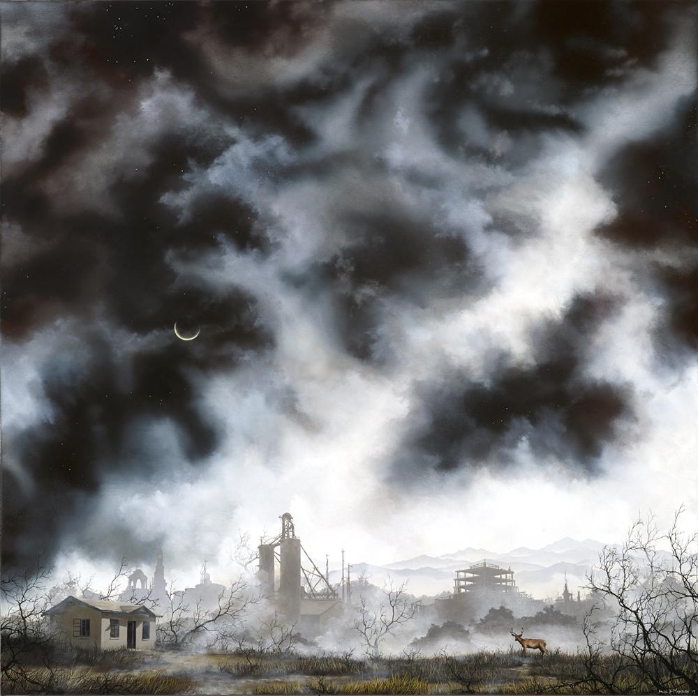 Постапокалиптические картины Brian Mashburn
