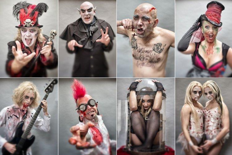 Репетиция цирка ужасов