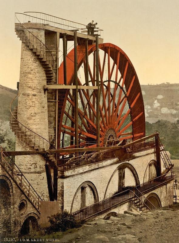Самая большая действующая водяная мельница