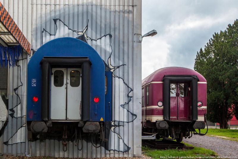 Необычный хостел в Западной Германии