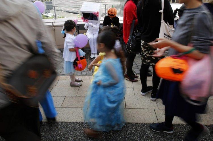 Парад на Хэллоуин в Японии