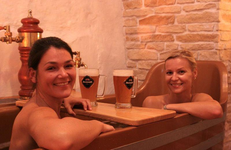 Пивной спа-салон в Праге
