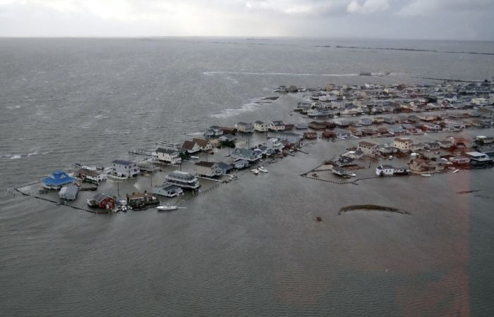 Катастрофические разрушения урагана Сэнди