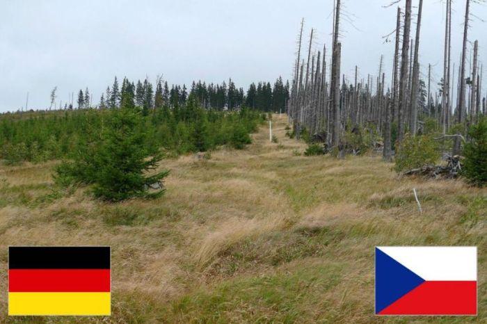 Самые красивые границы различных стран