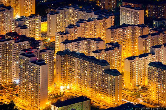 Москва с высоты