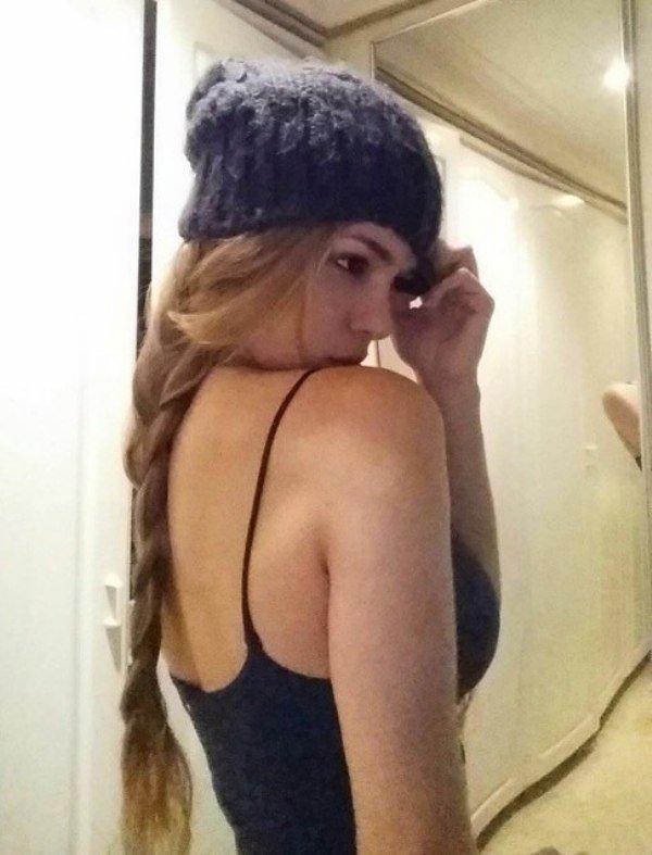 Девушка Anella Sangra из Колумбии