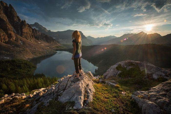 Захватывающие фото человека на природе