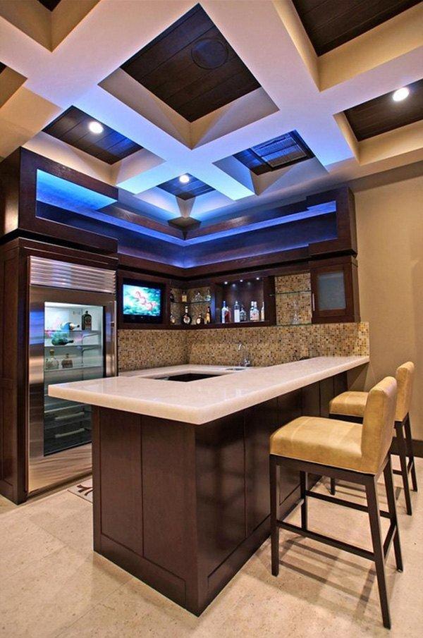 Дизайнерские идеи домашнего бара