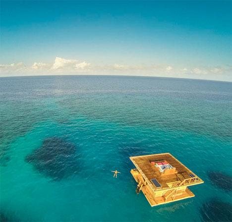 Подводный трехъярусный отель в Индийском океане