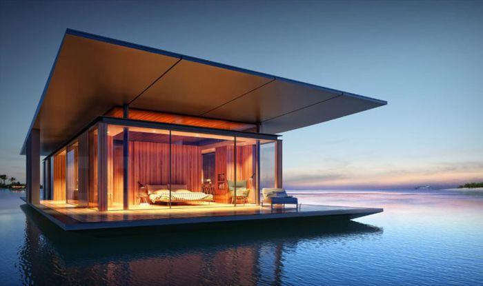Потрясающие дома с видом на озеро или реку