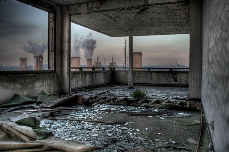 Загадочные заброшенные места